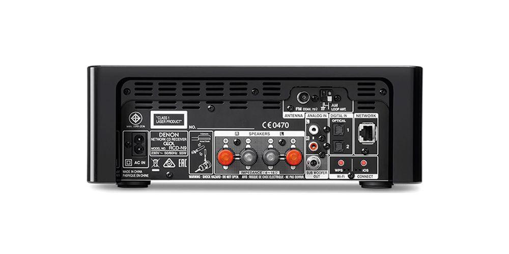 DENON RCD-N9 BK Receptor CD