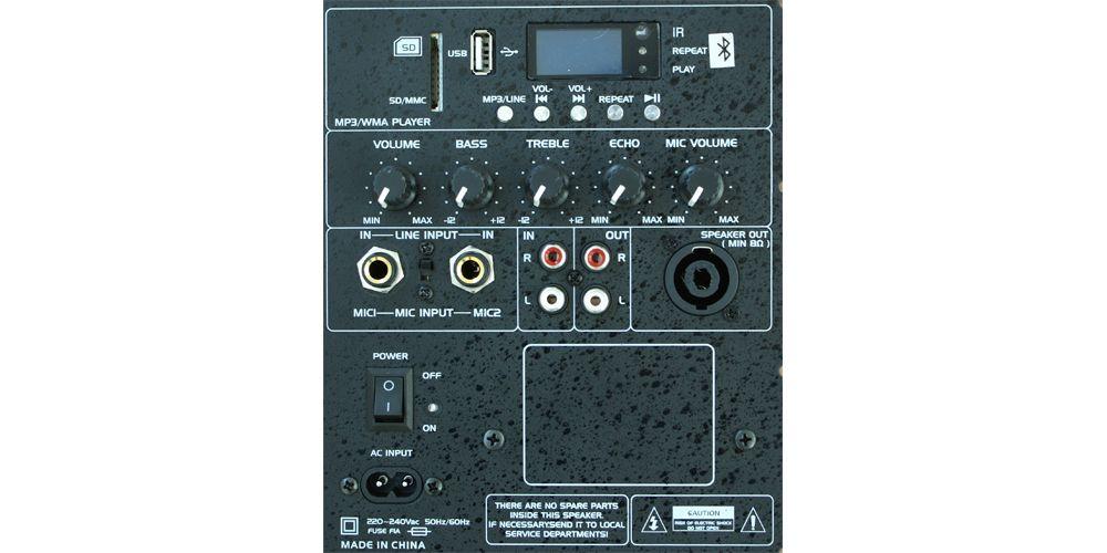 IBIZA SOUND SLK10A-BT, Altavoz Activo 10