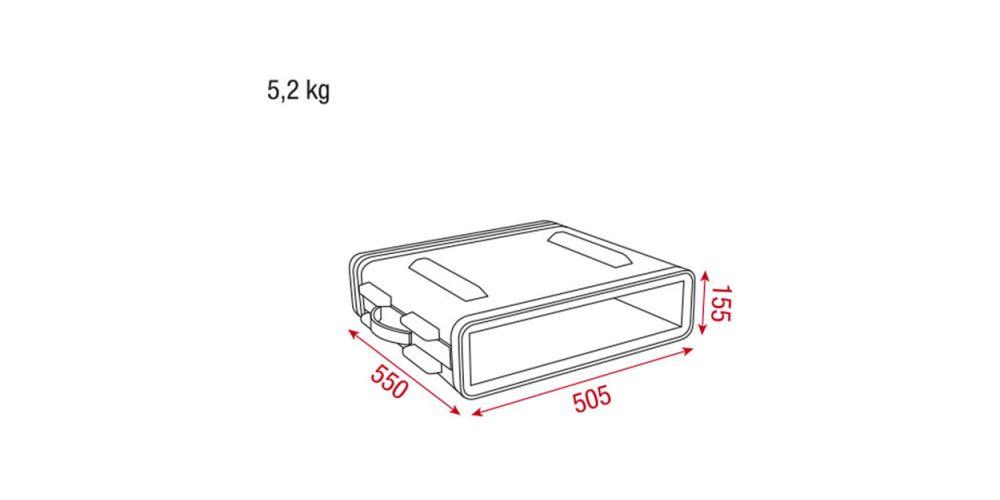 D7101 dap audio dimensiones