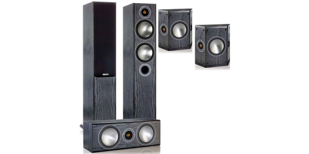 monitor audio Bronze Cinema 5 av black