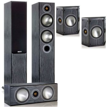 MONITOR AUDIO Bronze 5-AV BK, Kit  BRONZE B5 + BRONZECENTER + BRONZE FX
