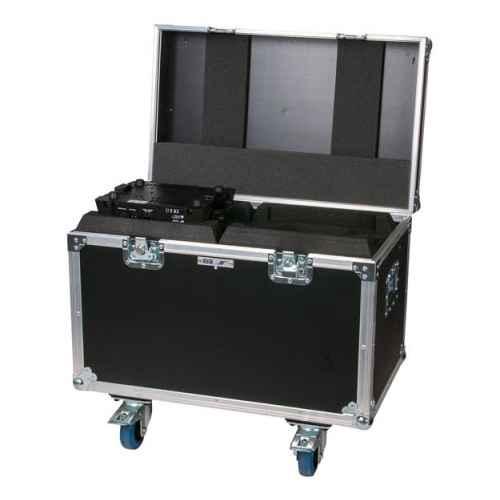 dap audio case for 2 x phantom 75 beam spot d7230 open
