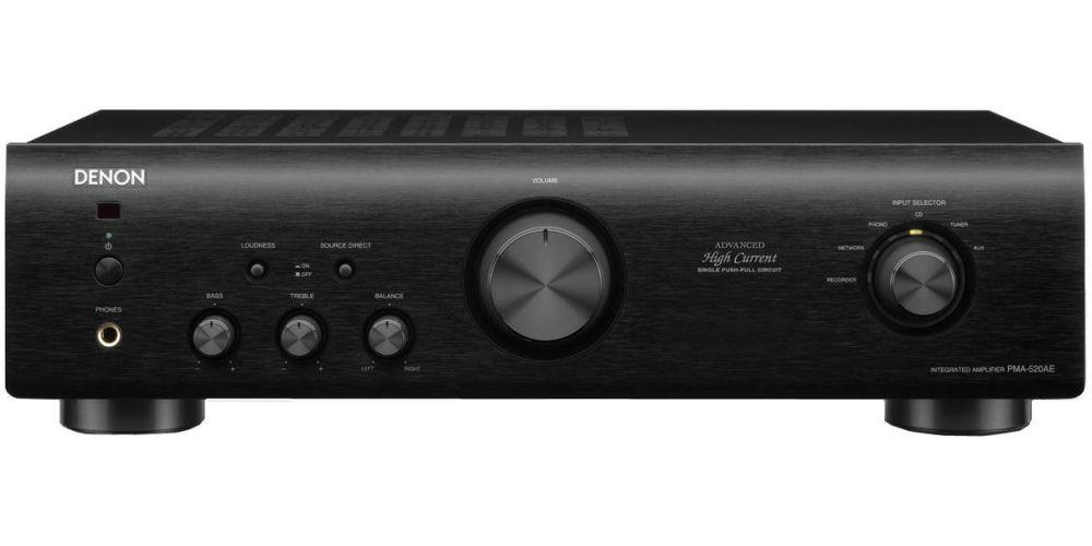 denon pma 520 bk amplificador