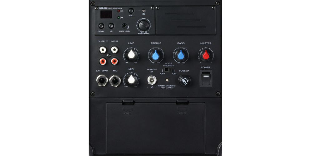 LD SYSTEMS ROADBUDDY 10 HS B6 Altavoz de PA portatil