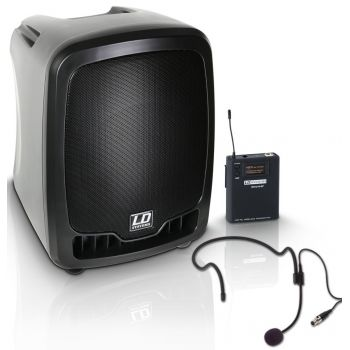 LD SYSTEMS ROADBUDDY 10 HS B6 Altavoz de PA portatil