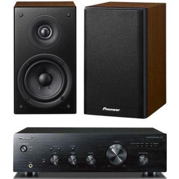 Pioneer Amplificador  A10 K + Altavoces SCN301