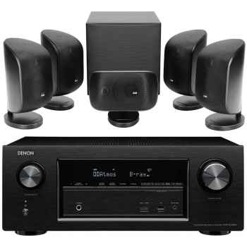 DENON AVR-X230+BW MT50-BK