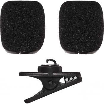 SHURE Kit con pinza clip y 2 antivientos para SM35