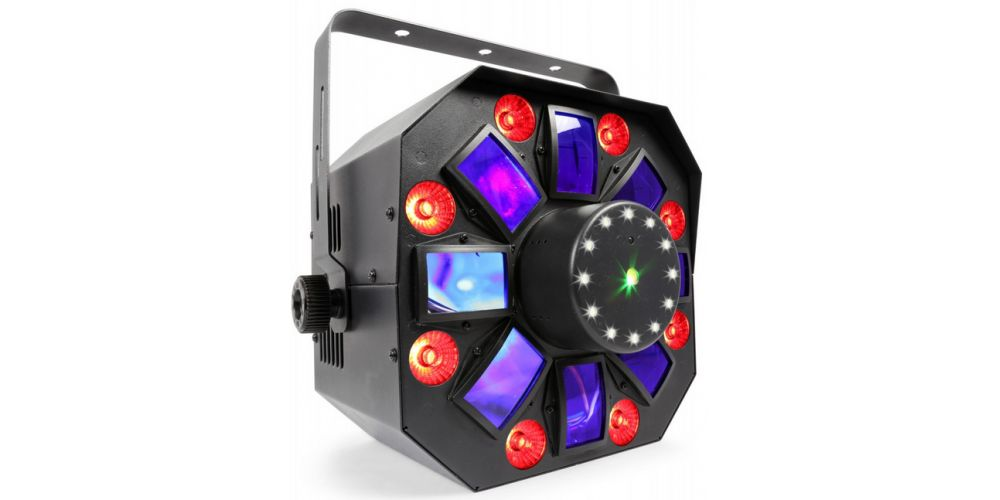 Beamz MultiAcis IV LED con laser