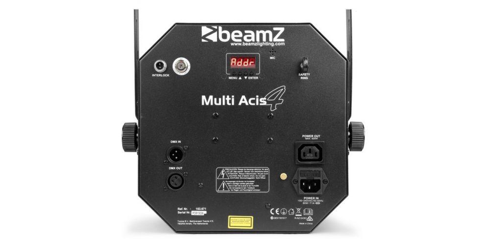 comprar Beamz MultiAcis IV LED con laser