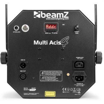 Beamz MultiAcis IV LED con laser y strobe 153671