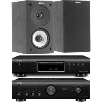 DENON PMA-520-BK+DCD520-BK+Jamo S-622 Black