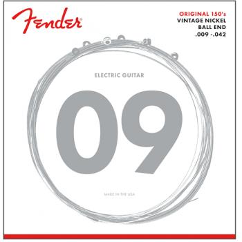 Fender Cuerdas Original 150 Acabado Niquel Puro 150L .009-.042
