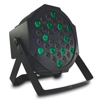 Audibax Montana 36 Foco LED RGB 36 x 1w con Mando