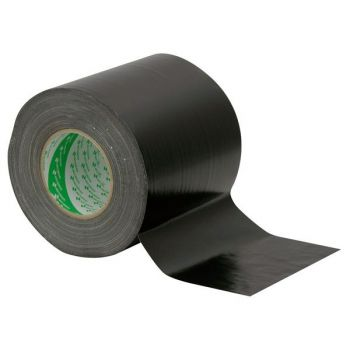 Antari Gaffa Tape 150mm 50m Black Nichiban Cinta Negra 90621