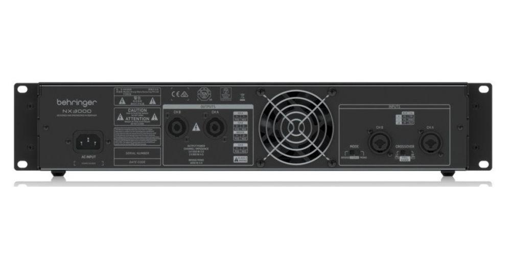 behringer nx3000 etapa potencia 3000w