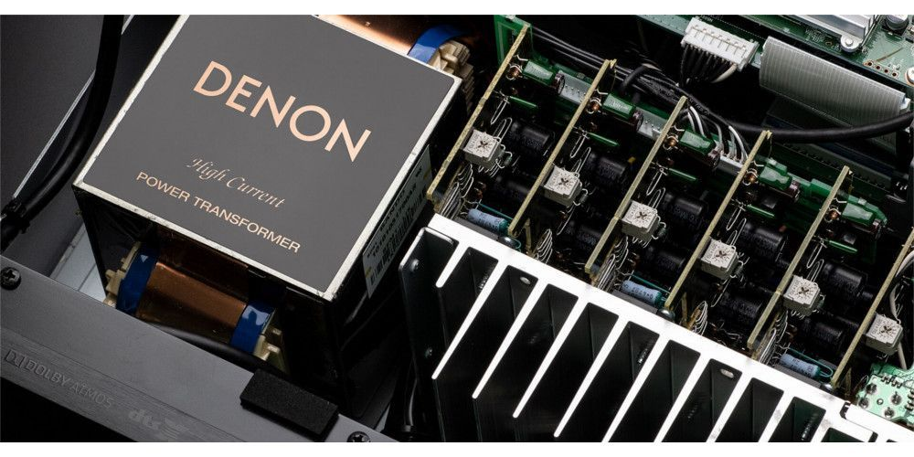 denon AVCX6500H componentes