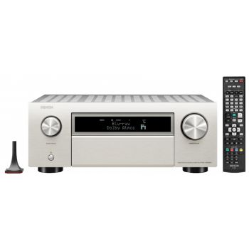 DENON AVC-X6500H Silver amplificador Audio-Video Alta Definicion