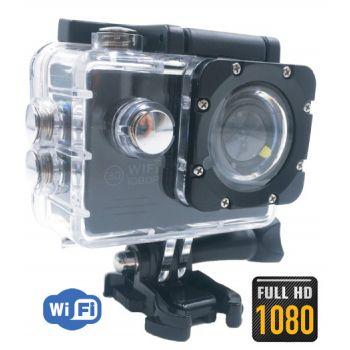 Penta Film Wi-Fi ACTION CAM PF3000 Full HD 1080p Con Accesorios