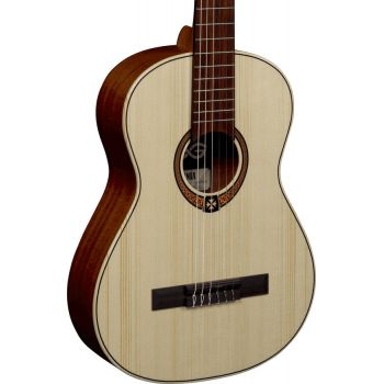 LAG OC70-3 Guitarra Clásica Serie Occitania Tamaño 3/4 Acabado Natural