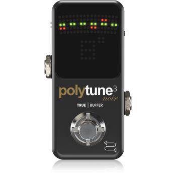 TC Electronic Polytune 3 Noir Pedal Afinador