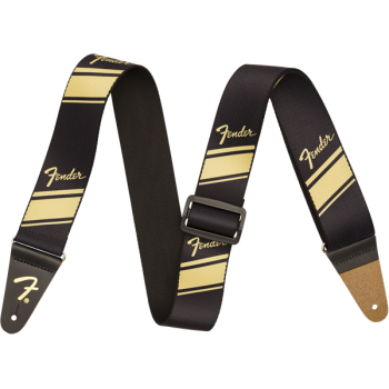Fender Competition Stripe Strap Gold