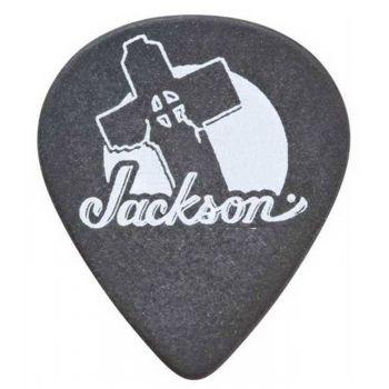 Jackson Púas 551 Thin Black Pack 12 Unidades