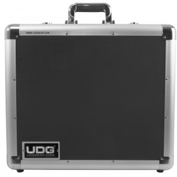 Udg U93016SL Flight Case Multi Formato para Giradiscos Silver