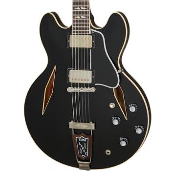 Gibson 1964 Trini Lopez Standard Reissue VOS Ebony Guitarra Eléctrica