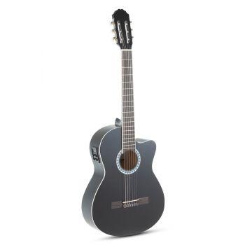Gewa PS510198 Guitarra Clásica ElectroAcústica Basic E-Acústica, Negro