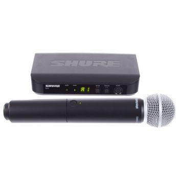 Shure BLX24 SM58 Micrófono Inalambrico