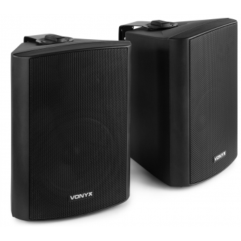 Vonyx 100024 Juego de altavoces 2 vias 120W  Negro By-Skytec