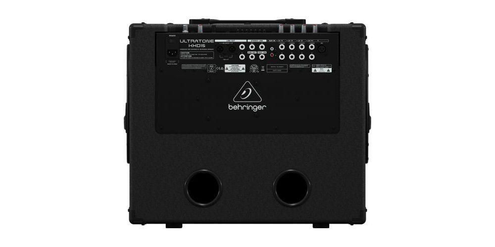 BEHRINGER KXD15 Amplificador 700w, 4 canales, Sistema PA, 15