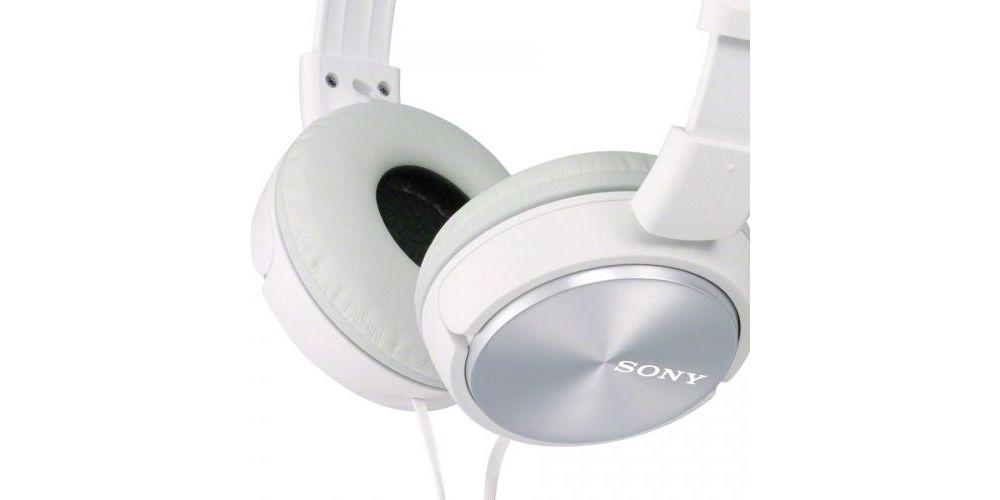 sony mdr zx310ap blanco auricular detalle