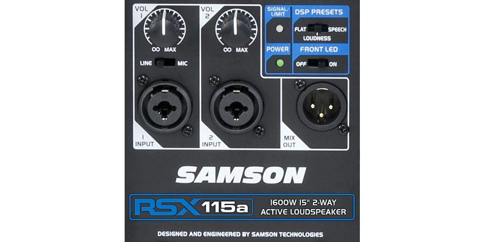 SAMSON RSX 115A Altavoz Activo