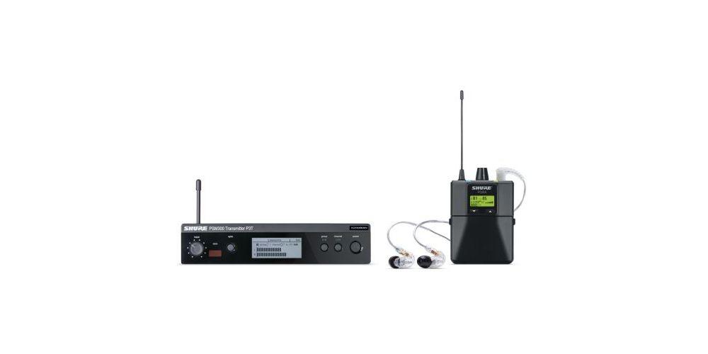 comprar sistema monitoraje shure p3tra215cl
