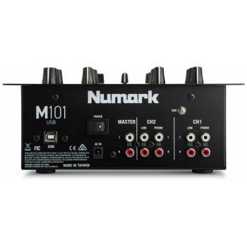 NUMARK M101 USB Black Mezclador Dj 2 Canales con USB