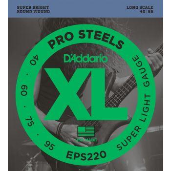 D Addario EPS-220 (040-095) Cuerdas Bajo Acústico
