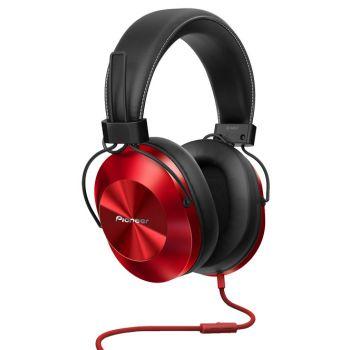 PIONEER SEMS5T-R Auriculares Hi-Res con micro Rojo