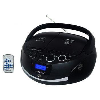 NEVIR NVR-480UB Radio-CD Bluetooth USB Negro