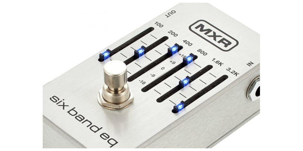 mxr m109s pedal controles
