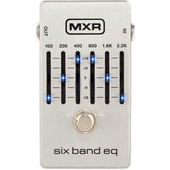 MXR M109S Pedal FX Ecualizador de 6 Bandas