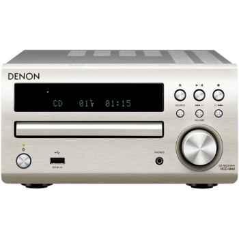 DENON RCDM-40 Silver + Cambridge SX-50 Walnut