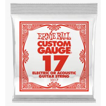 Ernie Ball 1017 Slinky Cuerda Para Guitarra Electrica Plana 0.17