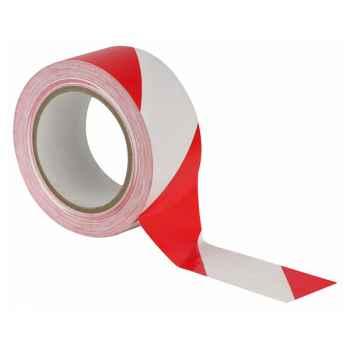 Showtec Floor-Marking tape 50 mm Cinta Roja y Blanca para Suelo 90624
