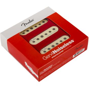 Fender Gen 4 Noiseless Stratocaster pastillas Set de 3