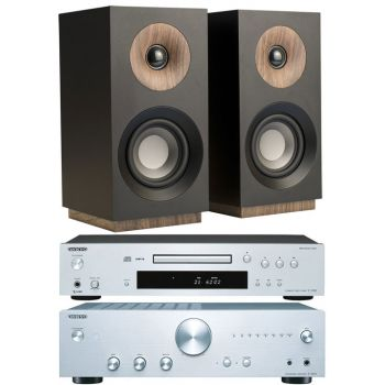 ONKYO A-9010 SI+C7030 SI+Jamo S801 Black, Conjunto Audio