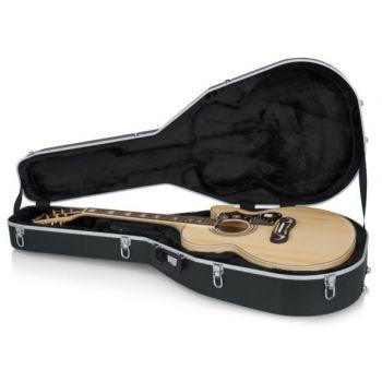 Gator GC-JUMBO Estuche para Guitarra Tipo Jumbo / ABS DELUXE