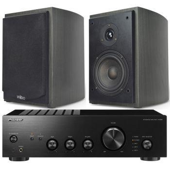 Pioneer A-10AEK + Wiibo Karino 400 Conjunto Audio