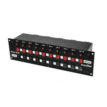 Eurolite 10-ST Panel de Interruptores 10 Switches + Flash